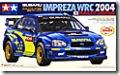 スバル・インプレッサWRC2004 1/24 タミヤ