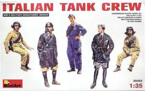 イタリア戦車兵 1/35 ミニアート