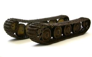 ヤクトパンターG1初期型 足まわりの泥汚れ