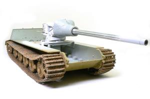 ヤクトティーガー ヘンシェルタイプ 履帯のウエザリング