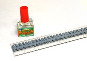 ヤクトティーガー・ポルシェタイプ リモネン系接着剤で連結
