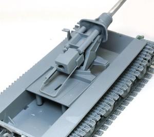 ヤクトティーガー・ポルシェタイプ 主砲の組立て