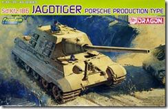 ドイツ・重駆逐戦車ヤクトティーガー・ポルシェタイプ 1/35 ドラゴン
