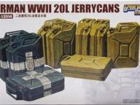 WW2ドイツ軍・ジェリカンセット 1/35 グレート・ウオール・ホビー