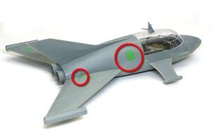 ジェットビートル 機体の整形