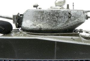 シャーマン・ジャンボ 砲塔の鋳造肌表現