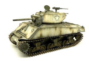 M4A3E2シャーマン・ジャンボ 履帯を切り詰めて転輪に貼り付ける