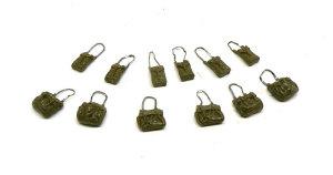 連合軍車輌アクセサリーセット バッグのディテールアップ
