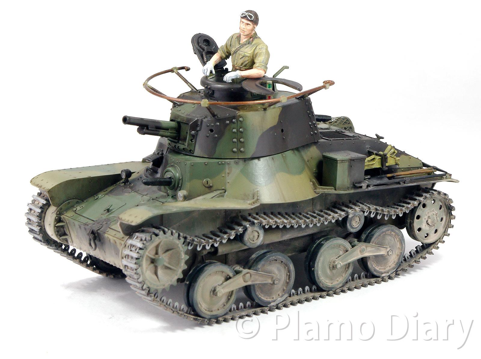 日本陸軍・4式軽戦車ケヌ その9 ...