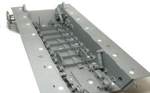 ケーニヒスティーガー・ヘンシェル砲塔 サスペンションの組み立て