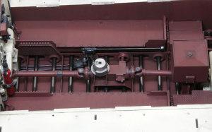 ケーニヒスティーガー・ヘンシェル砲塔 砲塔旋回装置