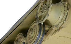 ケーニヒスティーガー・ヘンシェル砲塔 起動輪の仕上げ