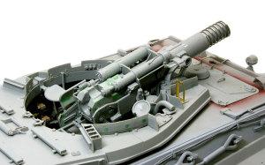 ケーニヒスティーガー・ヘンシェル砲塔 主砲Kwk43の組立て
