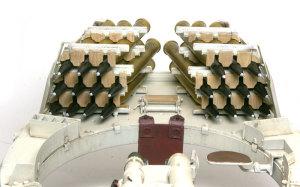 ケーニヒスティーガー・ヘンシェル砲塔 砲塔内の砲弾ラック