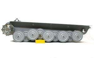 ケーニヒスティーガー・ヘンシェル砲塔 稼働するサスペンション