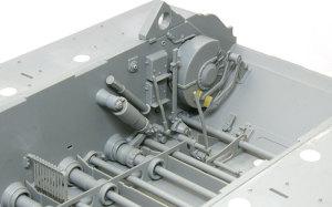 ケーニヒスティーガー・ヘンシェル砲塔 運転席のペダル