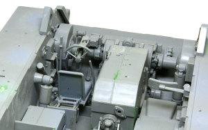 ケーニヒスティーガー・ヘンシェル砲塔 駆動系と操舵装置