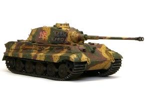 ケーニヒスティーガー・ヘンシェル砲塔 戦車が出来上がり