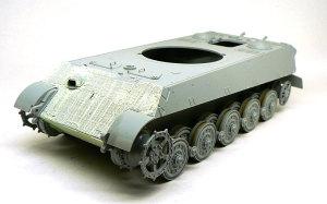 ケーニヒスティーガー ポルシェ砲塔 車体のツィンメリット・コーティング