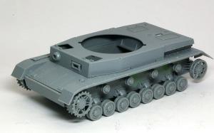 4号対空戦車クーゲルブリッツ 車体の組立て