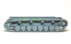4号対空戦車クーゲルブリッツ 履帯の組立て