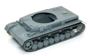4号対空戦車クーゲルブリッツ 車体の組立て開始