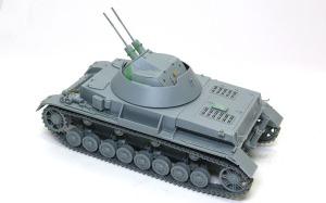 4号対空戦車クーゲルブリッツ 組立て完了