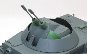 4号対空戦車クーゲルブリッツ 砲塔
