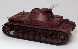 4号対空戦車クーゲルブリッツ レッドプライマーで基本塗装