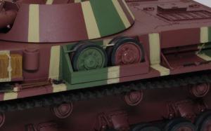 4号対空戦車クーゲルブリッツ 予備転輪押さえを追加