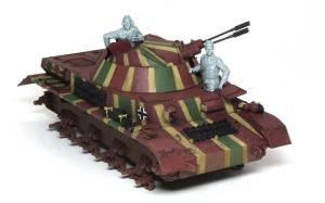 4号対空戦車クーゲルブリッツ フィギュアの組立て