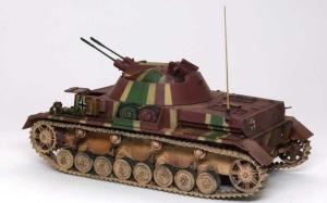 4号対空戦車クーゲルブリッツ 履帯の組み付け