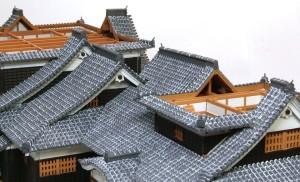 大小天守閣、1階2階の屋根