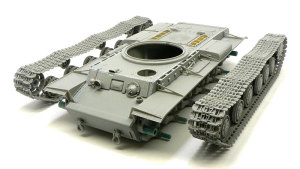 KV-1'sエクラナミ 履帯の組立て