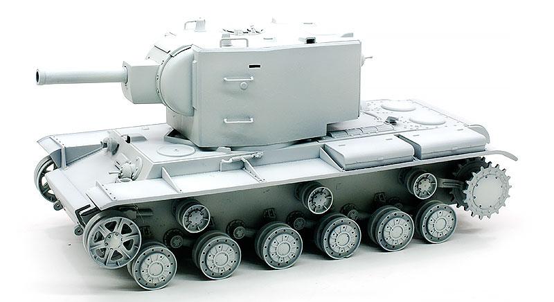 ガールズ&パンツァー・KV-2重戦車 塗装