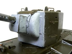 砲塔に鋳造肌のテクスチャを付ける