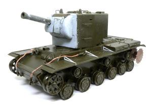 ソビエト重戦車・KV-2ギガント 組立て完了
