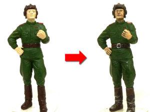 KV-2ギガント 人形の制作