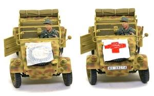 キューベルワーゲン救急車 識別旗の制作