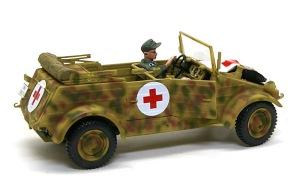 キューベルワーゲン救急車 デカール貼り