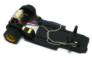 ランチア・ストラトスHF 走行装置の組立て