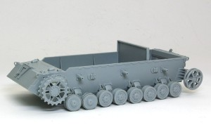 4号駆逐戦車L/70(V)ラング 足まわりの組立て