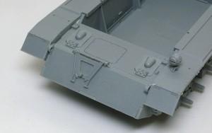 4号駆逐戦車L/70(V)ラング シャーシの組立て
