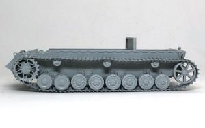 4号駆逐戦車L/70(V)ラング 履帯の組立て