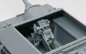 4号駆逐戦車L/70(V)ラング 主砲の組立て