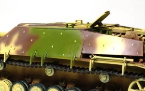 4号駆逐戦車L/70(V)ラング デカールの下地づくり