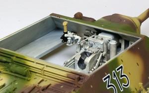 4号駆逐戦車L/70(V)ラング インテリアの仕上げ