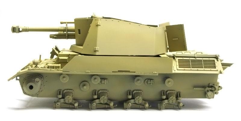 基本塗装 3/4号10.5cmleFH18自走榴弾砲