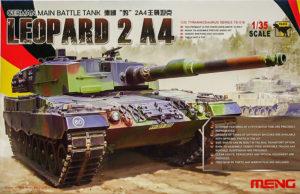 レオパルド2A4 1/35 モンモデル