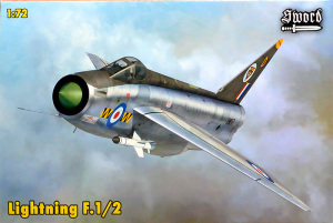 EE・ライトニングF1/2 1/72 ソード